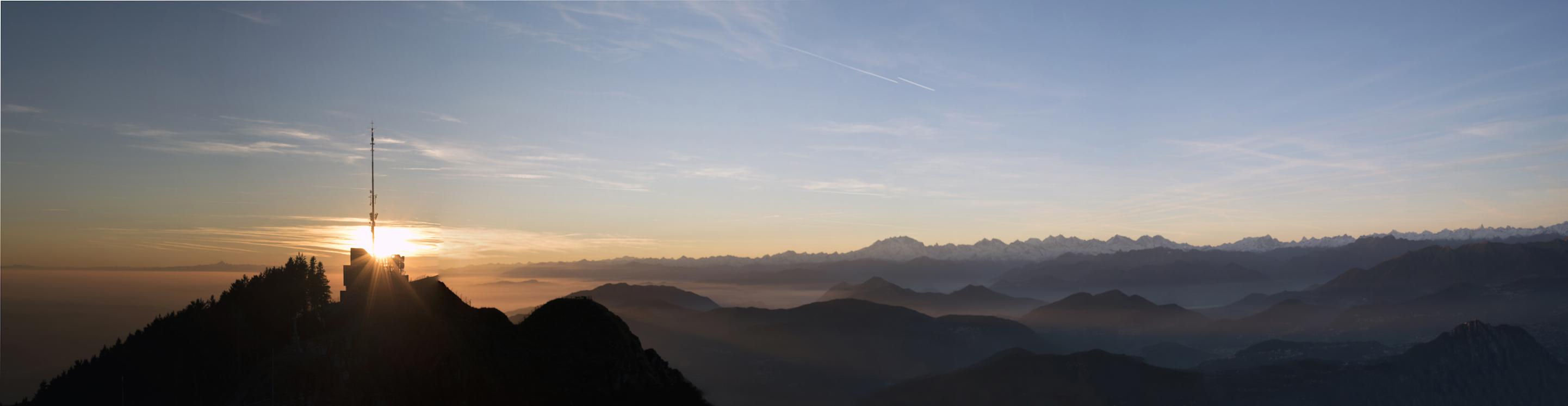 Panorama Monte Generoso